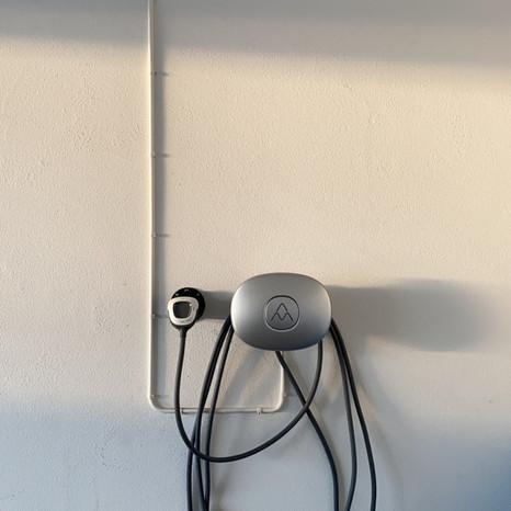 Installation av laddbox Charge Amps Halo - med grön teknik avdrag