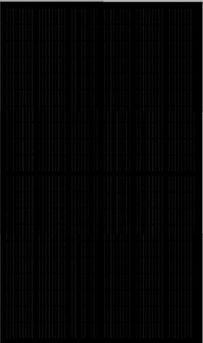 Solcellspanel helsvart
