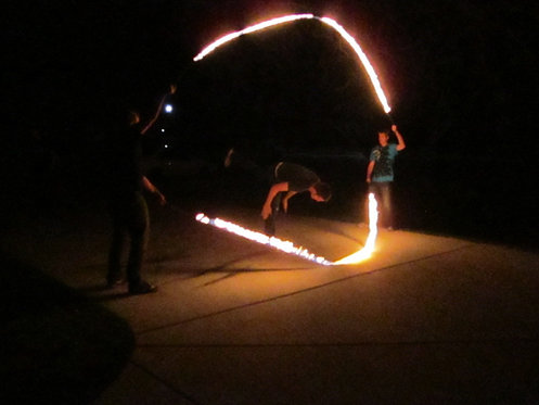 Fire Double Dutch / Long Ropes