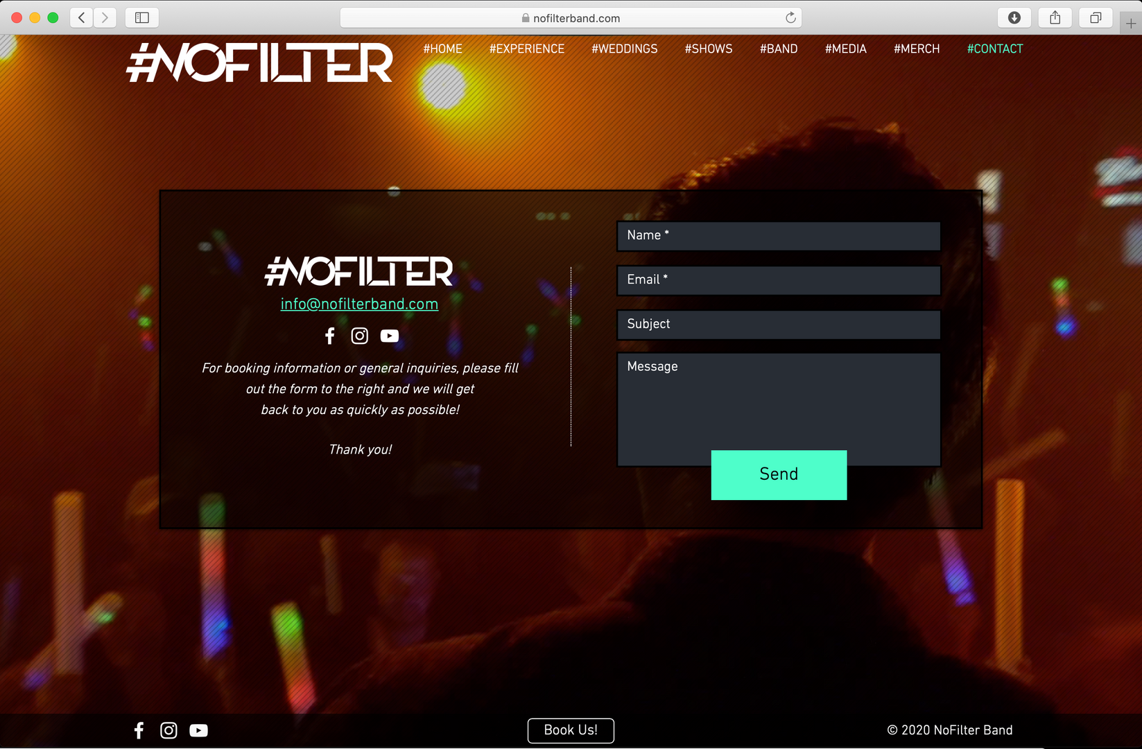 NoFilter Contact