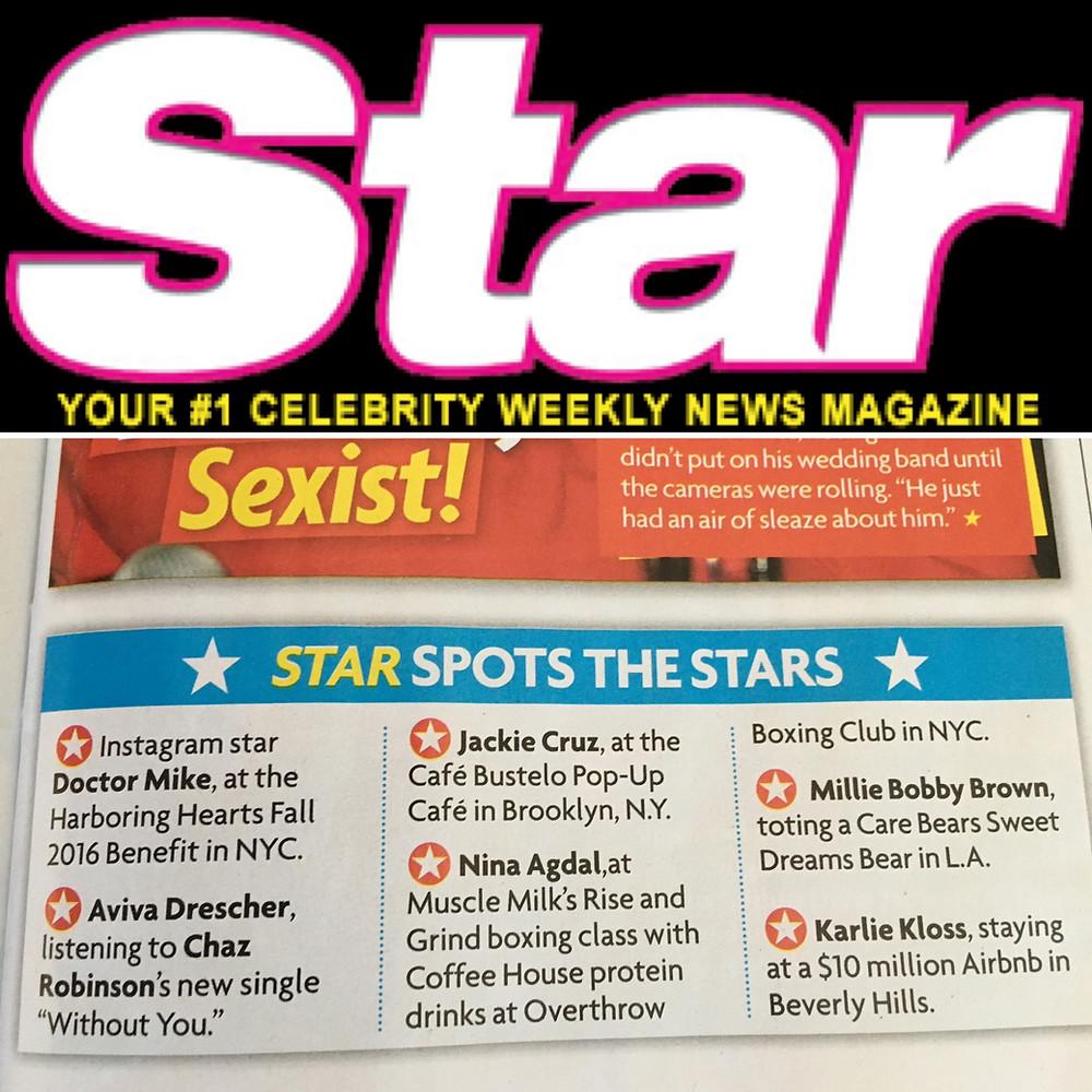 Chaz Robinson : Star Magazine