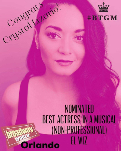 Crystal | Broadway World | Best Actress