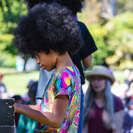 Phoenix playing at SF Botanical Gardens
