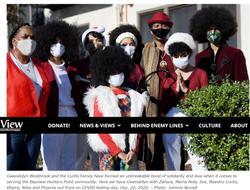 masked singers outside of 90 Kiska, pop