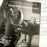 SF Botanical Gardens Lyrics Book