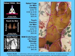 Intimate Events for Men June 2014 – Awaken Studio Toronto -♥- Juicy Heart