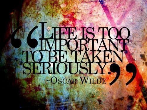Life is TOO important to be taken seriously. www.phillipcoupal.ca