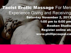 Erotic Touch and Taoist Massage for Men Toronto -♥- Juicy Heart