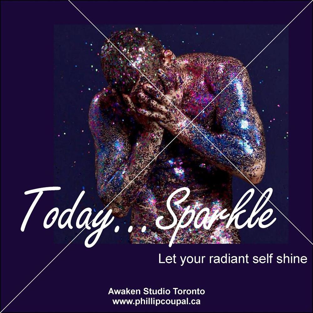 Sparkle - Awaken Studio a safe and loving environment for QUEER expression www.awakenstudiotoronto.com