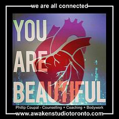 You are beautiful Awaken Studio
