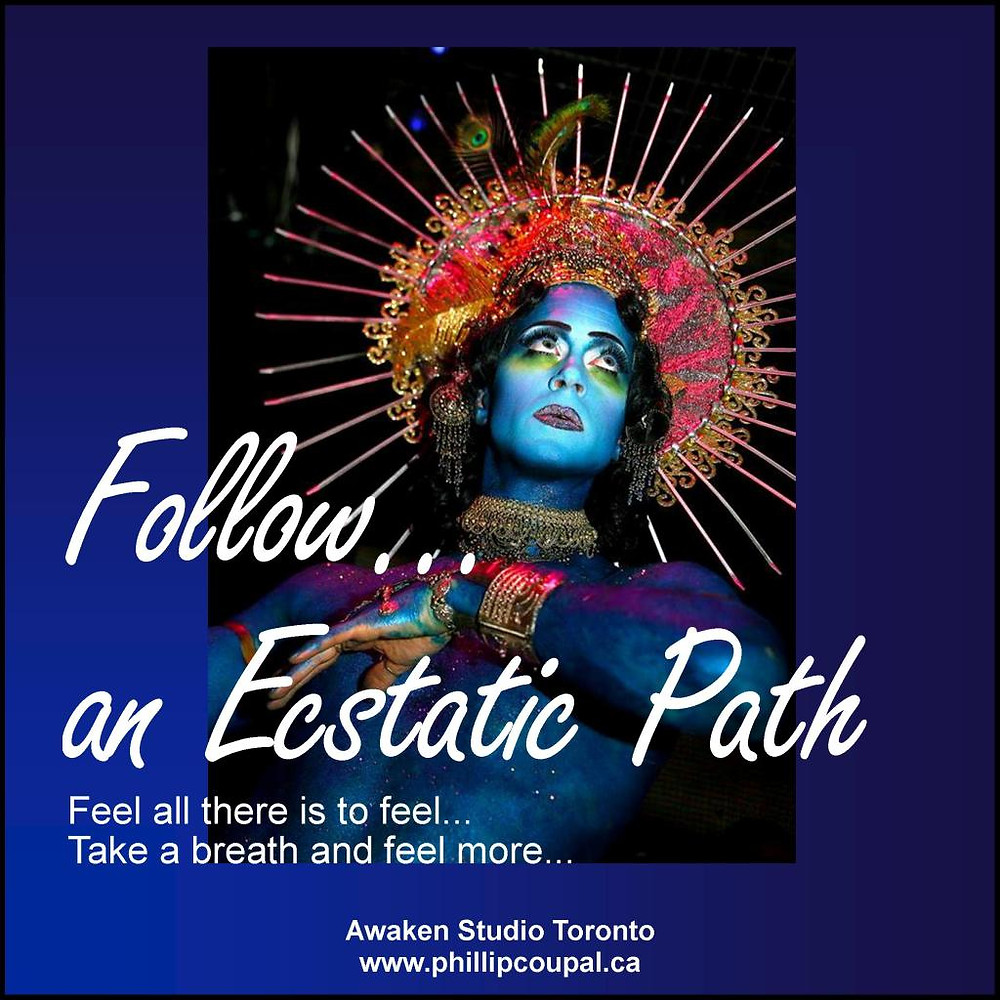 Ecstatic Path Weekend Workshop for Men Erotic and Sex Education at the Awaken Studio Toronto www.phillipcoupal.ca