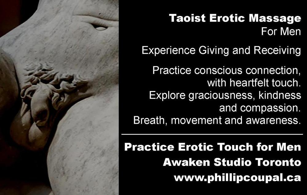 Erotic Bodywork for Men Toronto www.phillipcoupal.ca