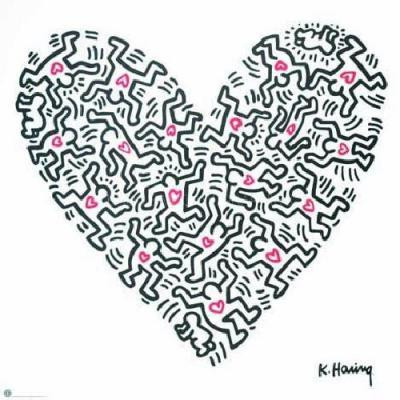 Juicy Heart from the Keith Haring Collection
