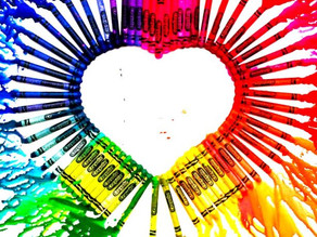 Colouring outside the lines -♥- Juicy Heart