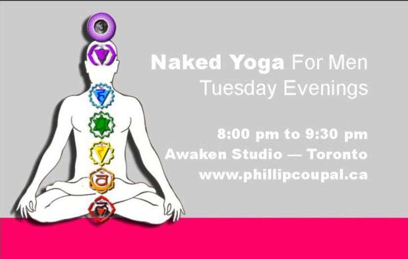 Naked Yoga for Men - Awaken Studio Toronto  http://www.phillipcoupal.ca/Naked-Yoga-for-men-Awaken-Studio-Toronto