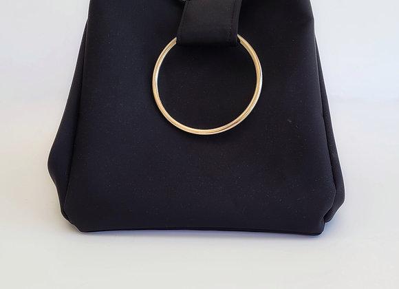 תיק צמידים - שחור מבריק