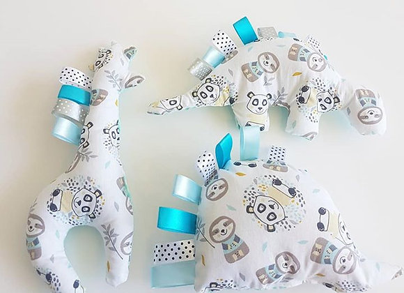 חבילת בובות פנדה - לבן מנטה