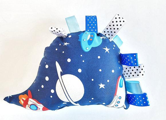 בובת קיפי חתולים בחלל - כחול תכלת