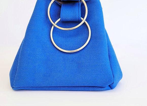 תיק צמידים - כחול ג'ינס