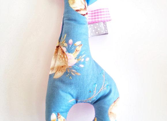 בובת ג'רי במבי - ורוד כחול