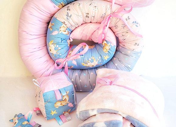 חבילת פינוק במבי - ורוד כחול