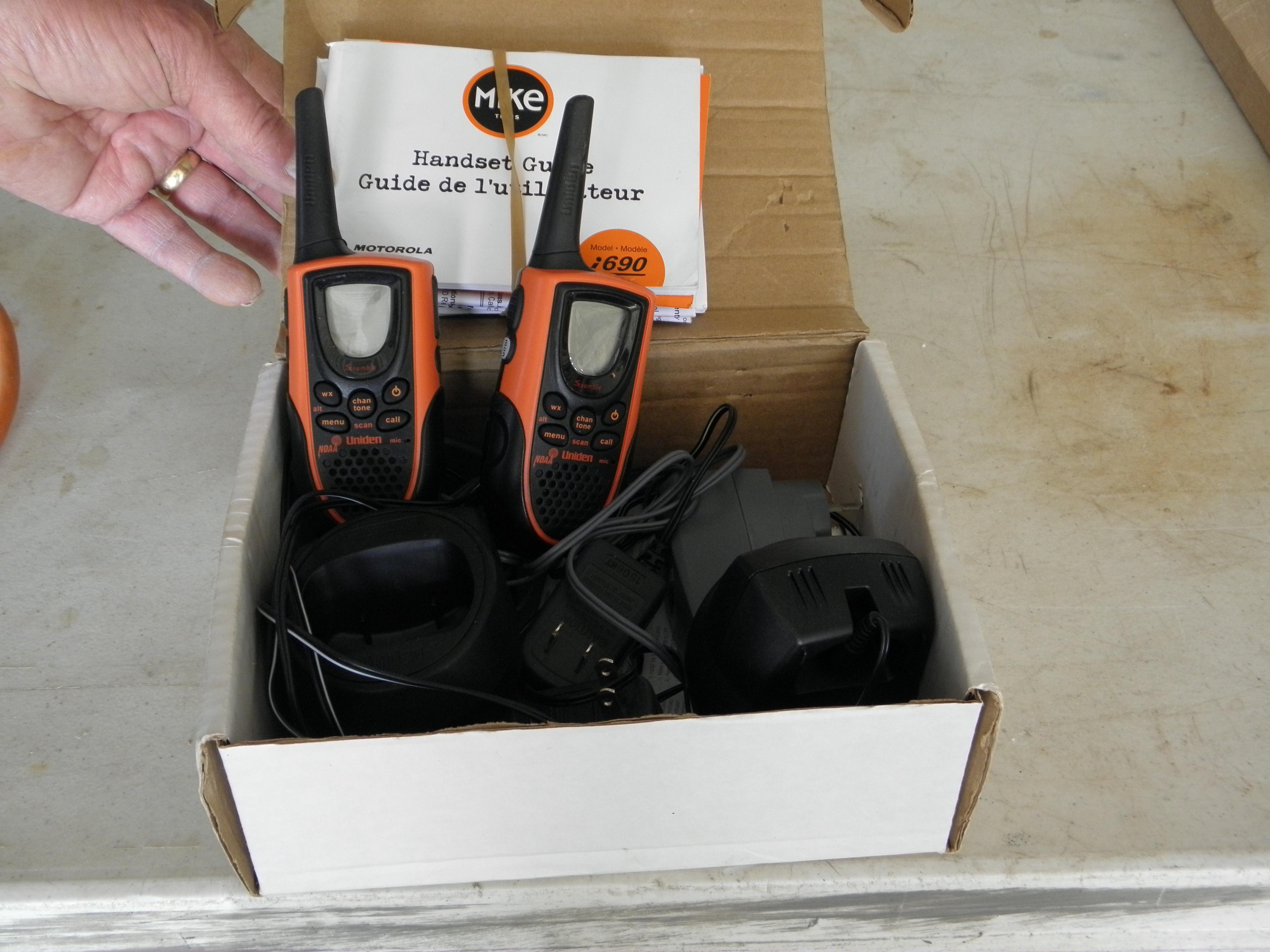 Mike Handheld Radios