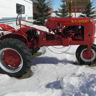 Antique Avery Tractor Built between 1937 & 1947