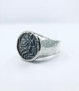 Men's Statement Coin Ring