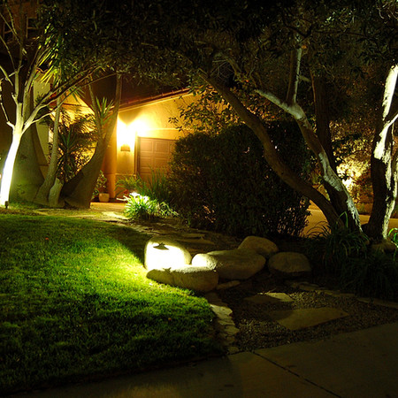 LED Landscape Lighting Front Yard