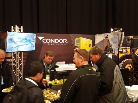 Condor Exhibits at Quarry NZ Conference