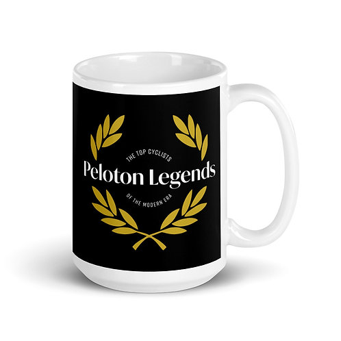 Peloton Legends 15oz Black Mug
