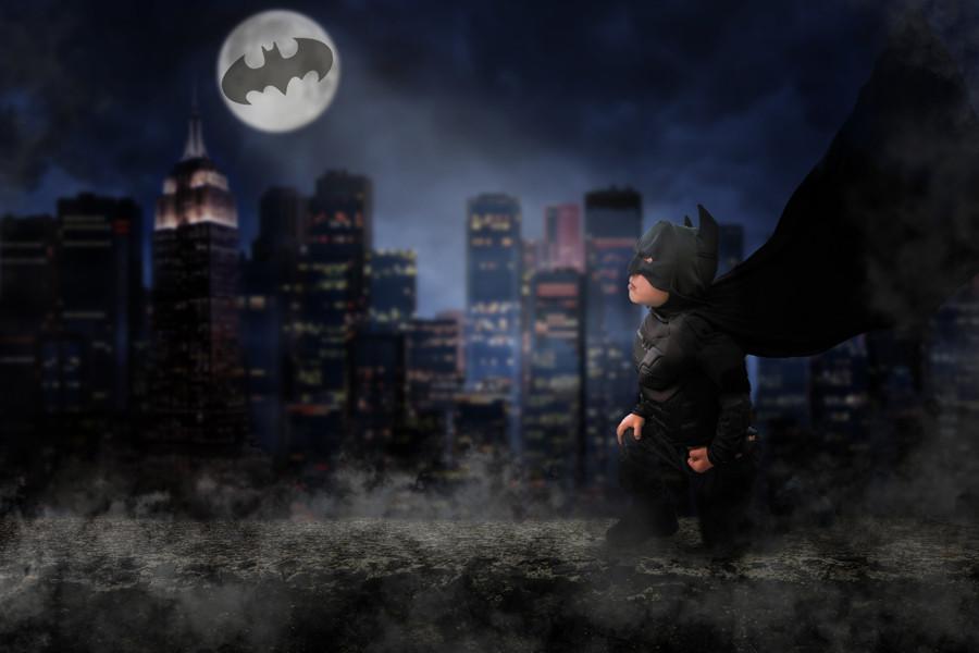 superhero photo ideas