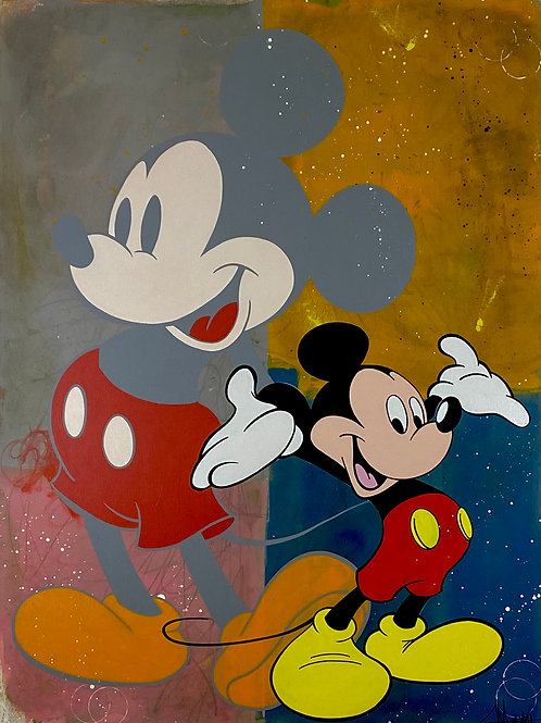 Mickey Then & Now