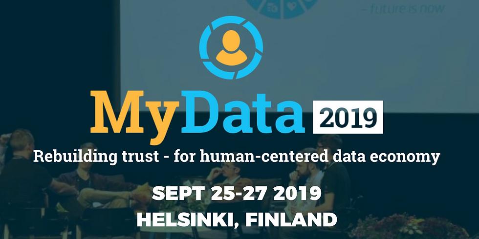 MyData Global in Helsinki September 2019