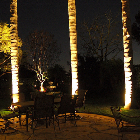 Outdoor Living Space Landscape Lighting
