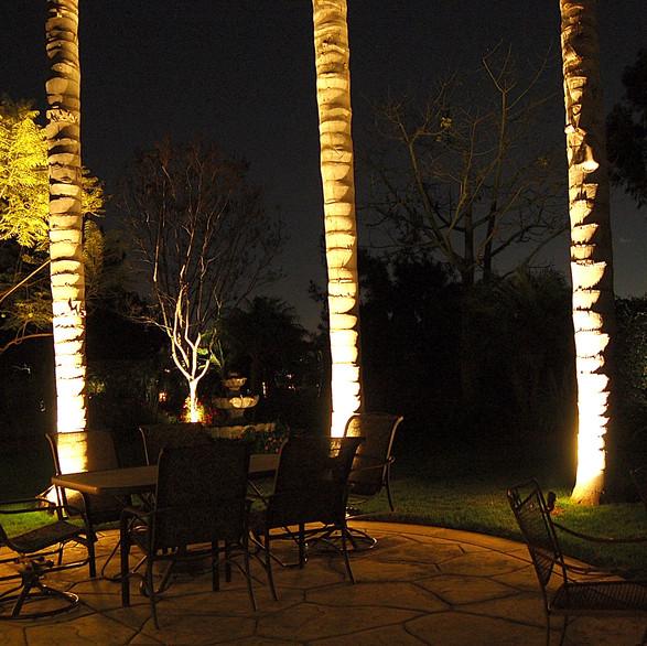 Outdoor Living Space Landscape Lighting