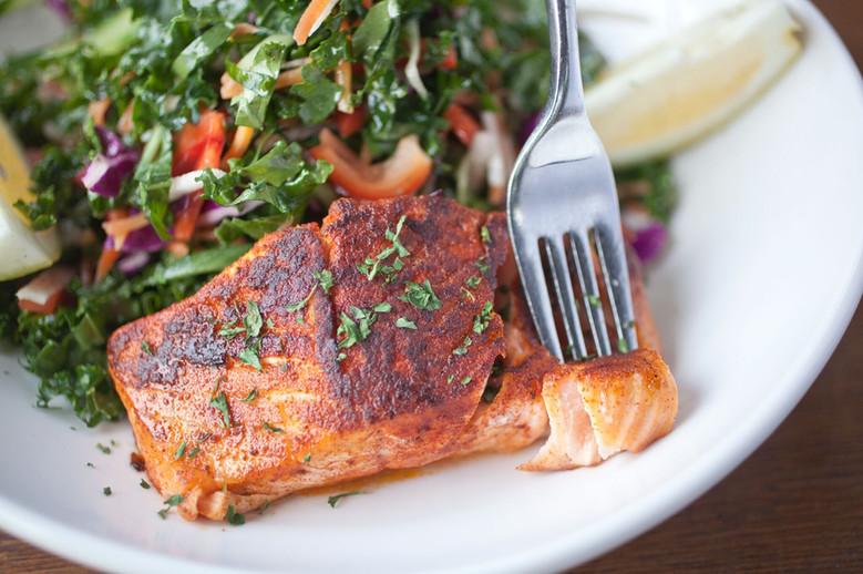 Salmon Fish Dinner