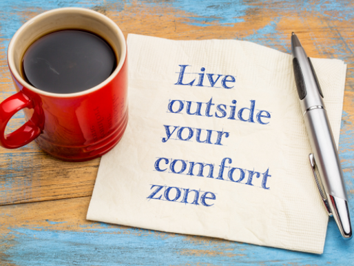 Ready to step outside of your comfort zone?