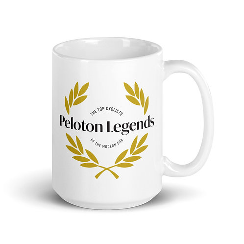 Peloton Legends 15oz White Mug