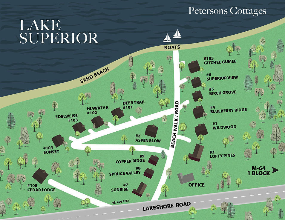 Petersons Cottages Map.png