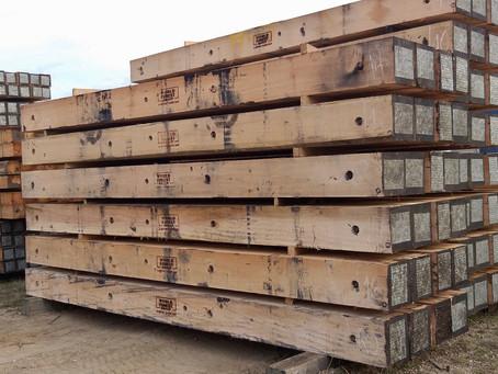 """12"""" Timber Crane Mats Available!"""