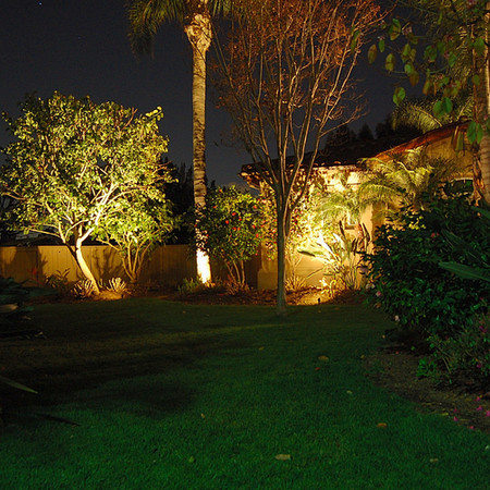 Side Yard LED Flood Lights