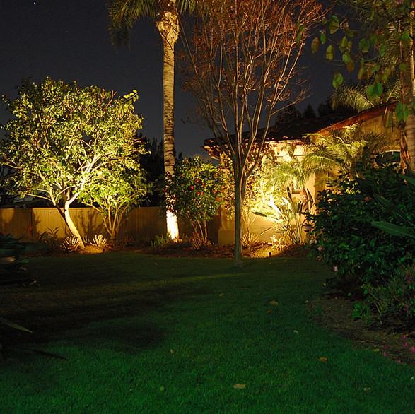 Side Yard LED Flood Lights