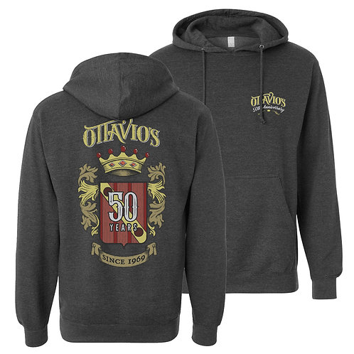 Pullover Hoodie in Charcoal Heather
