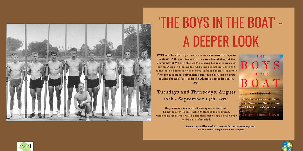 'The Boys in the Boat' - A Deeper Look