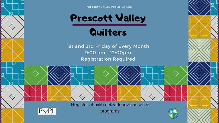 Prescott Valley Quilters Registration Required