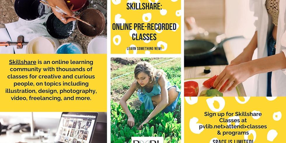 March Skillshare Classes