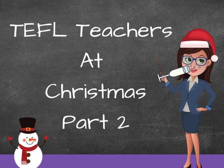 TEFL Teachers At Christmas