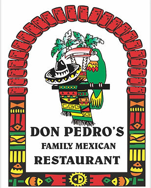 DON PEDROS LOGO TO GO WITH HALF PAGE AD.