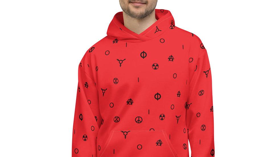 IO 2020 Unisex Hoodie RED